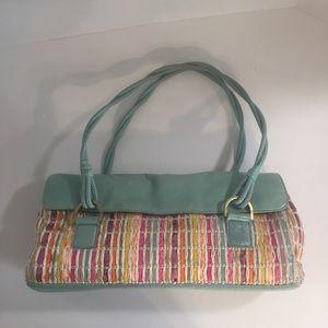 Sigrid Olsen Aqua weaved shoulder bag